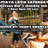Pattaya Latin @ Havana Bar, Holiday Inn Pattaya – Saturday 2nd August 2014