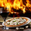 Wednesday Pizza Margarita & Glass of Wine Baht 299 – Dicey Reillys Pub
