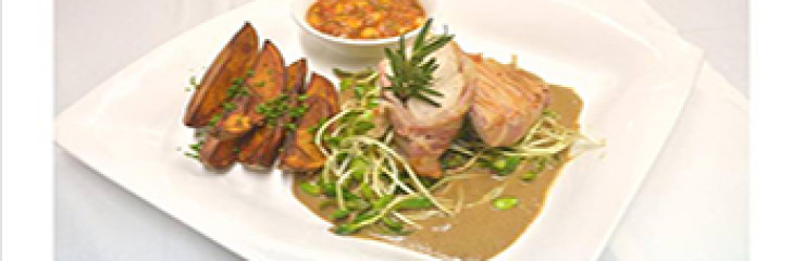 Special of the week – Grilled Bacon wrapped Chicken fillet at Akvavit Grill & Bar