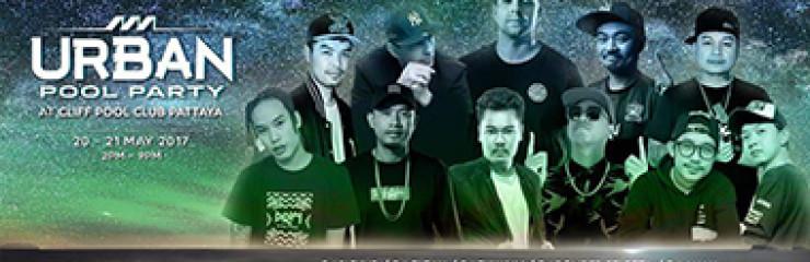 Urban Pool Party x Warp Music Festival at Cliff Pattaya – 20 May 2017