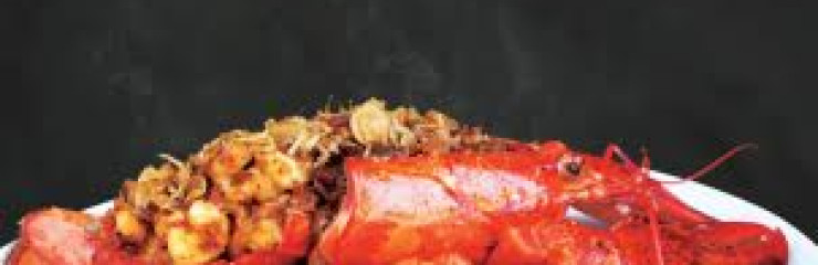 Wok Fried Canadian LOBSTER with XO sauce at Cape Dara Resort – Jun-Aug 2018