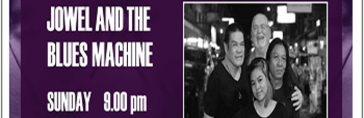 Live music with Jowel and the Blues Machine at Hard Rock Cafe Pattaya – Sunday