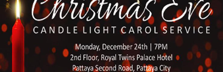 Christmas Eve Candle Light Carol Service at Encounter COC Church Pattaya – 24 December 2018