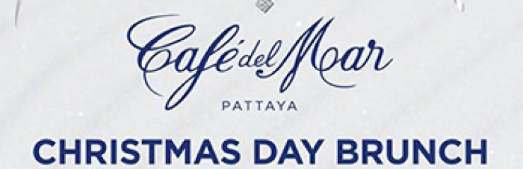Christmas Day Brunch at Cafe del Mar Pattaya – 25 December 2018