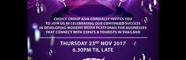 A New Era in Media Party Invitation, Pattaya –  23rd November 2017