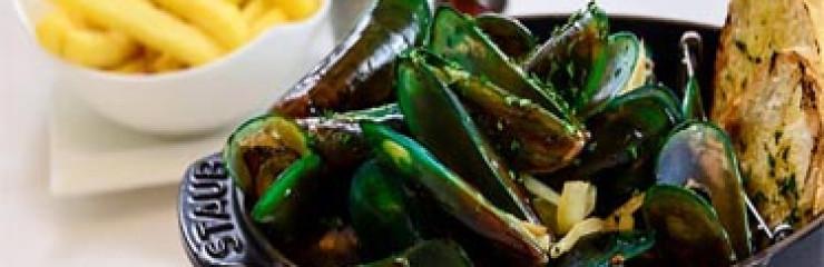 Every Thursday 220 Baht 1 Kilo Green Lip Mussels at Steak & Co Pattaya