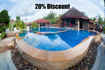 20% Discount at Two Tiger Resort – until 31 October 2017