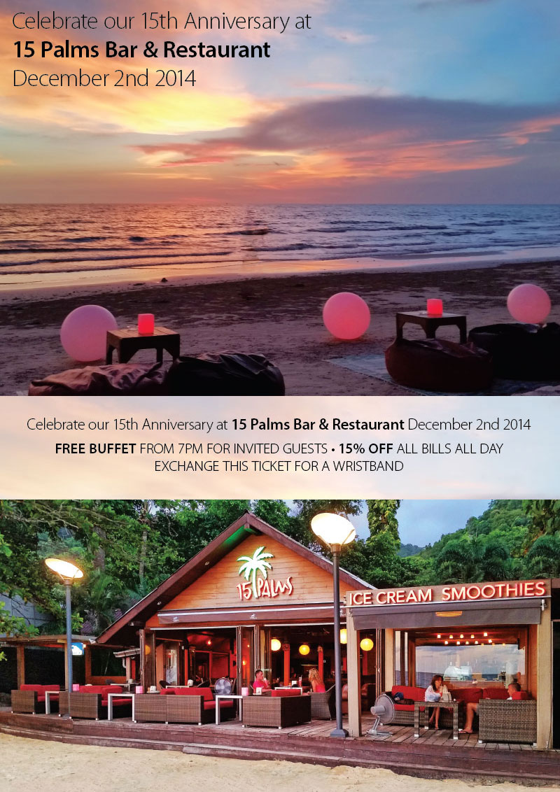 Celebrating 15 Years 15th Vow Renewal Anniversary Or: Inspire Pattaya -- Celebrate Our 15th Anniversary At 15