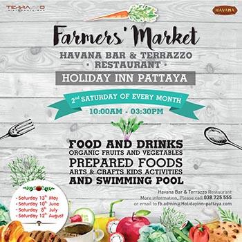 Farmers' Market at Havana Bar & Terrazzo Restaurant – 10 February 2018