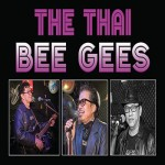 The Thai Bee Gees at New Country Road Rompho Market Jomtien Pattaya - 19 August 2017