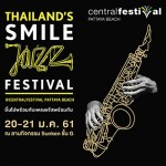Thailand Smile Jazz Festival at CentralFestival Pattaya - 20 January 2018