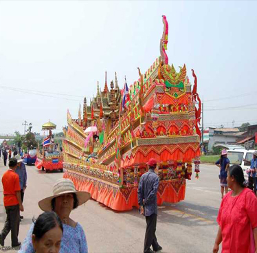 The Rocket Festival and the Legend of Kham Lai Horse