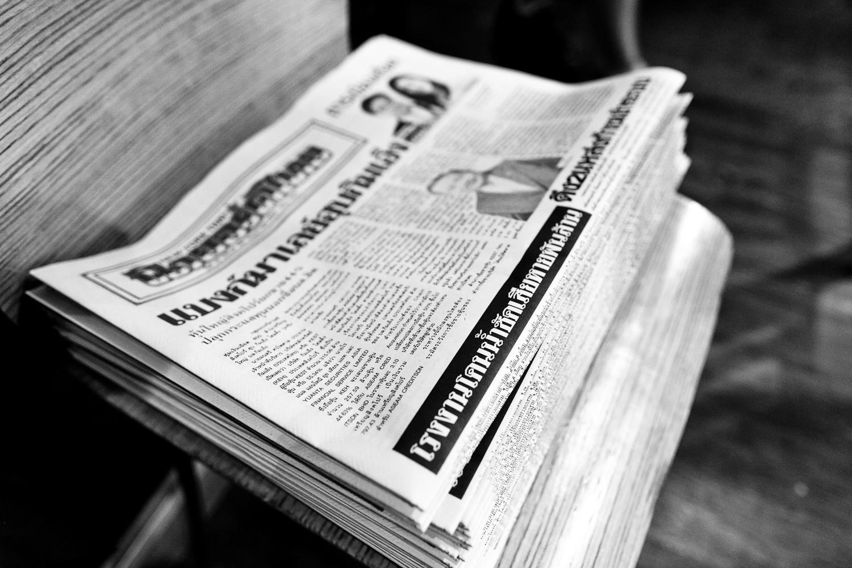 Thai+newspaper