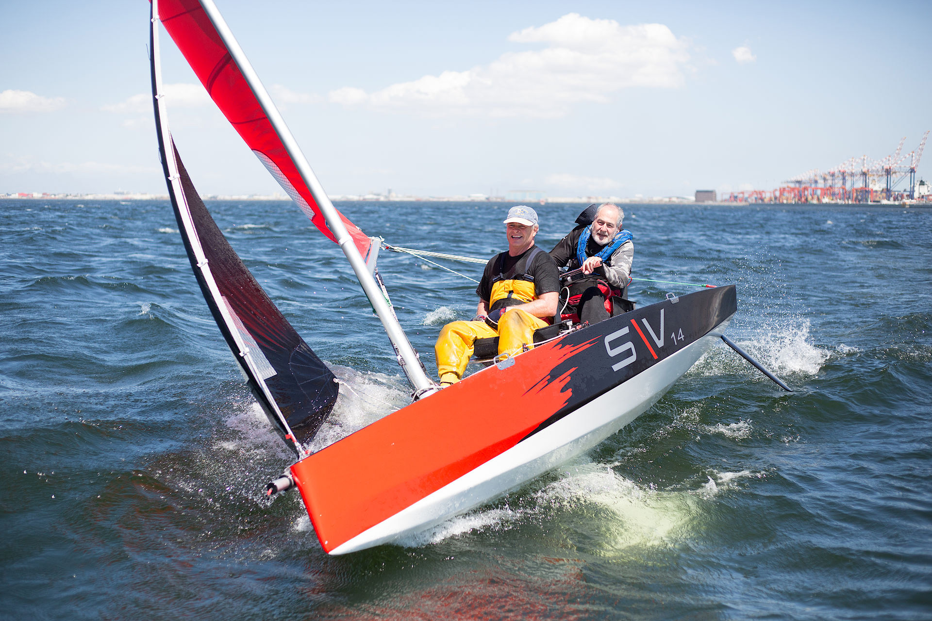 "Ocean Marina Yacht Club support disabled sailing in Thailand with purchase of eight ""SV14"" boats"