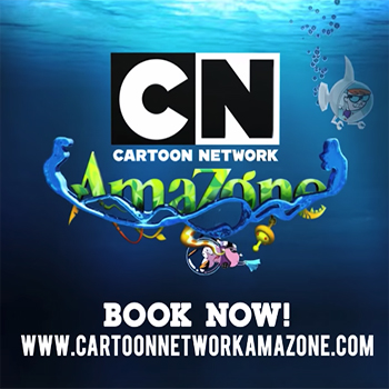 Welcome to Cartoon Network Amazone Pattaya