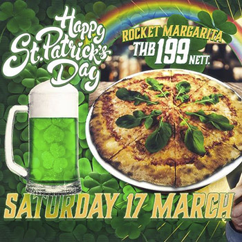 St Patrick's Day at Dicey Reilly's Pattaya – 17 March 2018