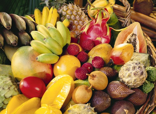 The Best Exotic Fruits to buy in a Thai Market