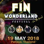 Fin Wonderland Festival On The Pattaya Beach - 19 May 2018