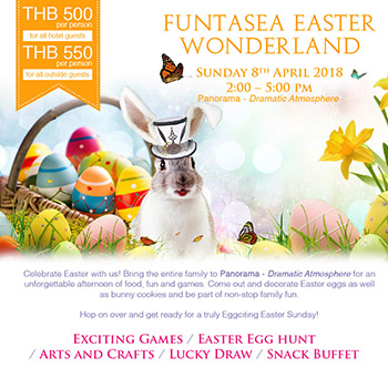 Royal Cliff's Eggciting Funtasea Easter Wonderland Is Returning Soon – 8 April 2018