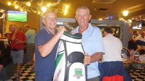 Gerry Sweetnam - A Flight & Low Gross Winner