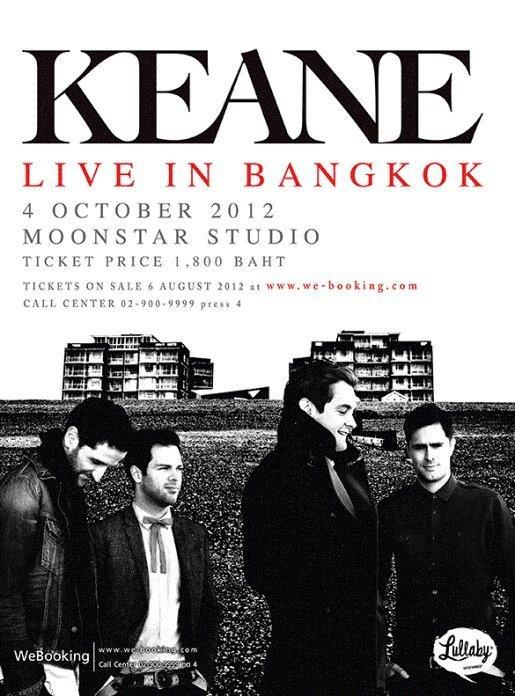 Keane Live in Bangkok 2012