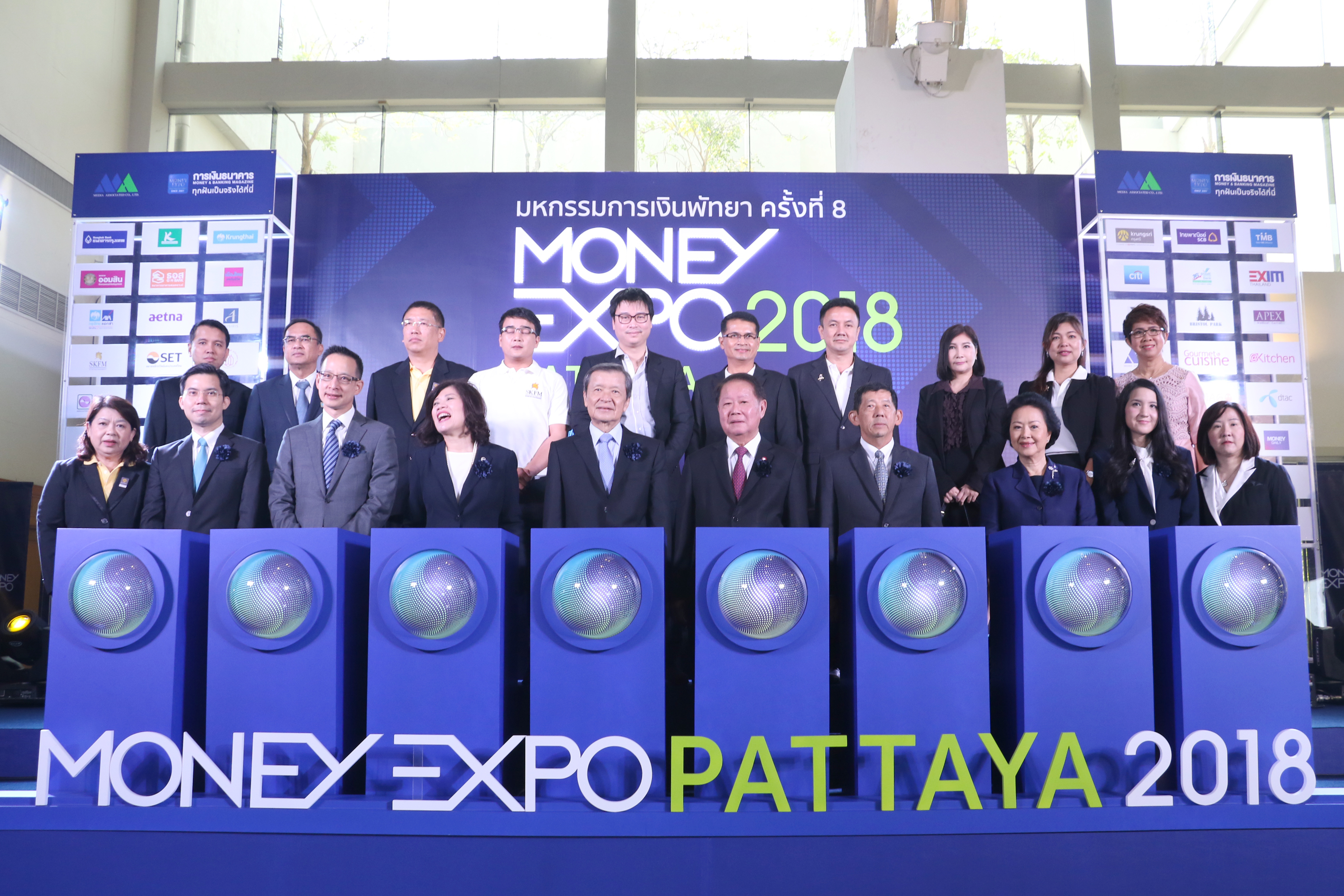 Money Expo Pattaya 2018 Successfully Held at Award-winning PEACH for the 8th Time