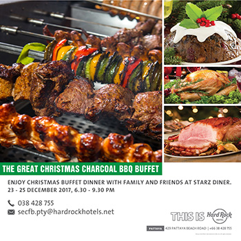 Pic - HRHP - The Great Christmas Charcoal BBQ Buffet 2017
