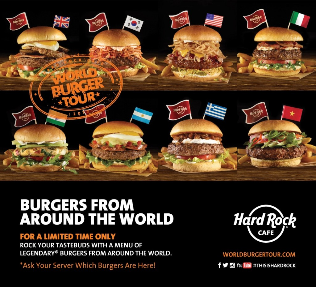 Hard Rock Cafe Thailand Menu