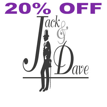 20% off tailored shirts at Jack and Dave Exclusive Tailoring!
