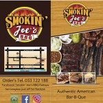 Take Away Menu at Smokin' Joe's BBQ Pattaya