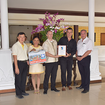 Highest standards for Thai Garden Resort's pool achieved