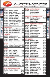 Weekly Schedule - 17th December