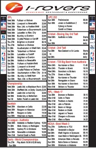 Weekly Schedule - 24th  December