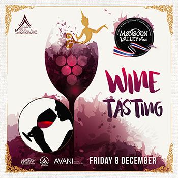 Wine Tasting at AVANI Pattaya – 8 December 2017
