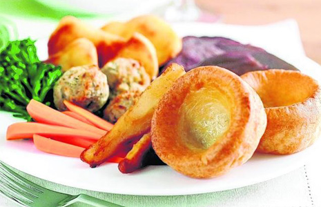 Punch and Judy's sought after Sunday Roast