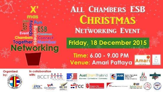 Inspire Pattaya All Chambers Eastern Seaboard Christmas