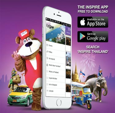 Events & Offers Throughout Thailand – Free Inspire App