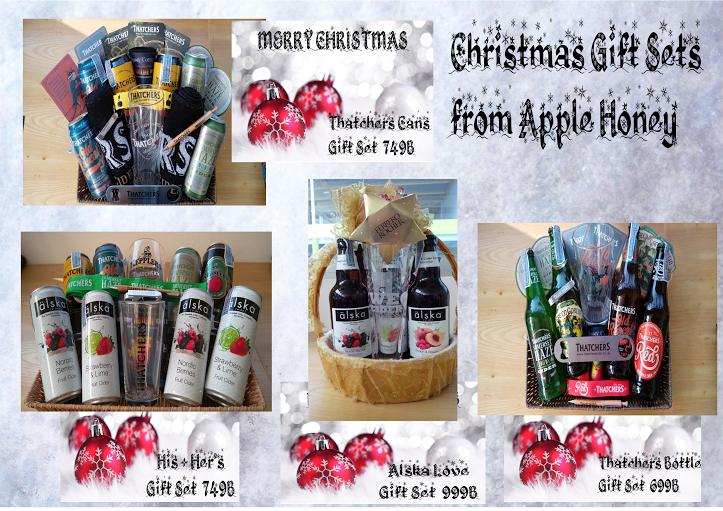 Inspire Pattaya -- Christmas Gift Sets From Apple Honey