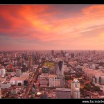 A Bangkok cityscape from the 84th floor of the Baiyoke Tower