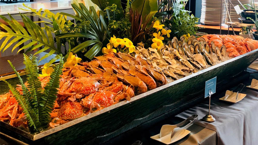 bbq seafood buffet pattaya