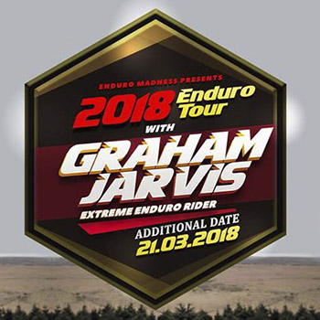 Extra Date Enduro Madness Tour with Graham Jarvis at Enduro Madness Pattaya – 21 March 2018
