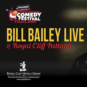 Bill Bailey live at Royal Cliff Hotel Pattaya – 7 April 2018