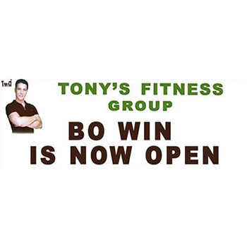 BO WIN Fitness Price List by Tony's Fitness Group
