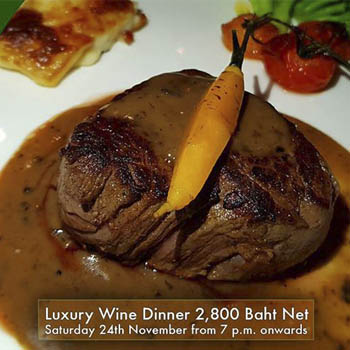 Luxury Wine Dinner by Chef Jordi Franquesa at Bruno's Restaurant & Wine Bar – Saturday 24th November 2018