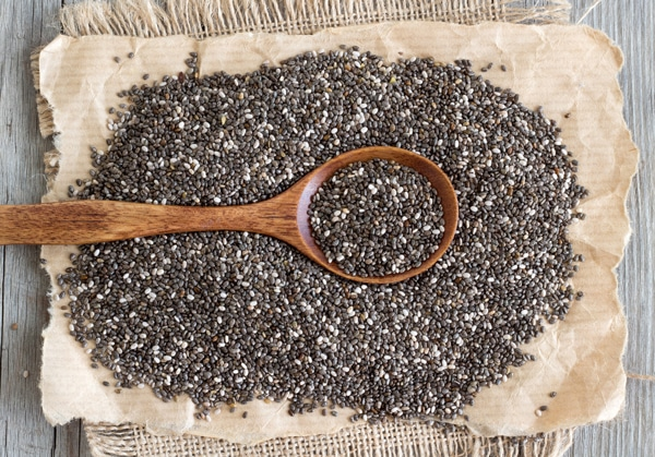 chia-seeds-on-brown-paper-bag