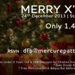 christmas mercure
