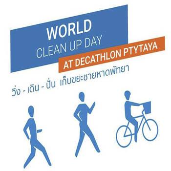 Decathlon Pattaya World Clean Up Day 2018 – Saturday 8th September