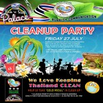 Cleanup/ Party at The Blue Lagoon Pattaya - 27 July 2018