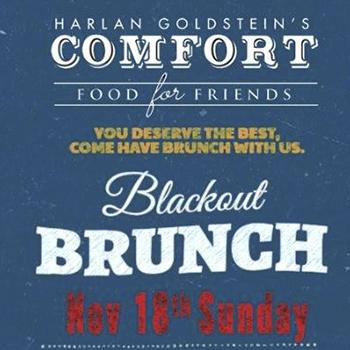 Blackout Brunch at Comfort by Harlan Pattaya – 18 November 2018