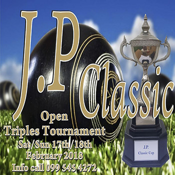 JP Classic Cup 2018 at The Retreat Lawn Bowling Club Pattaya – 17/18 February 2018